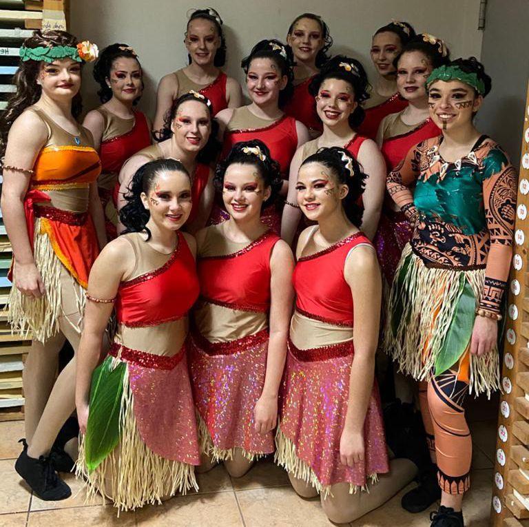TCV-Bechtolsheim Tanzgruppe 2 mit Choreografin Annalena Hillmann