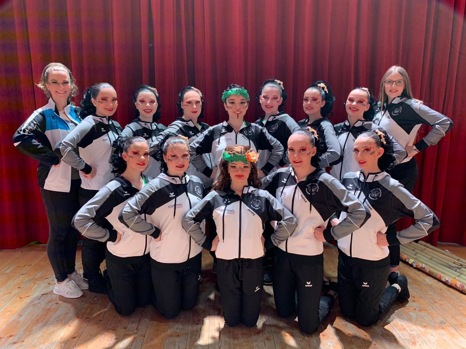 TCV-Bechtolsheim Tanzgruppe 3 mit Choreografin Annalena Hillmann