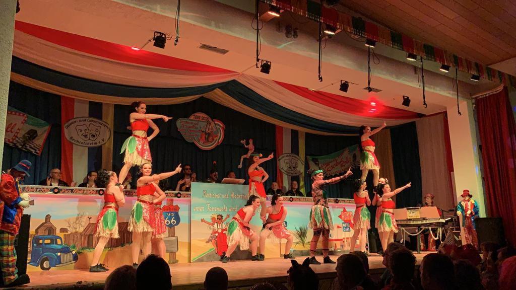 TCV-Bechtolsheim Tanzgruppe 5 mit Choreografin Annalena Hillmann